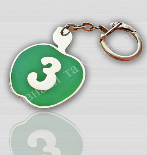 брелок для ключей со знаком тайота