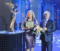 May 24, 2012 at the International Center of Culture and Arts awarding ceremony for the winners of the All-Ukrainian rating of
